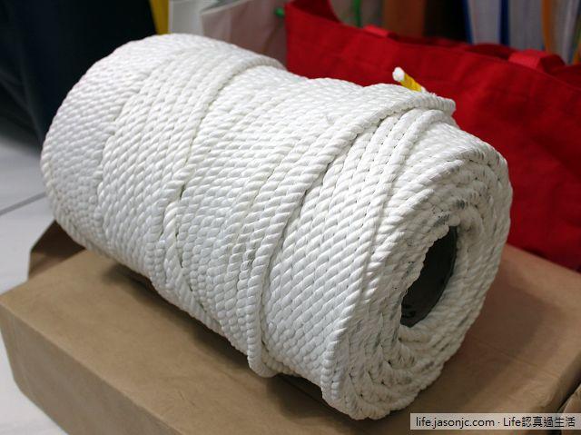 童軍繩和繩結板材料