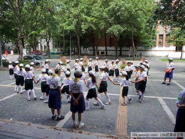 團集會:童軍繩結