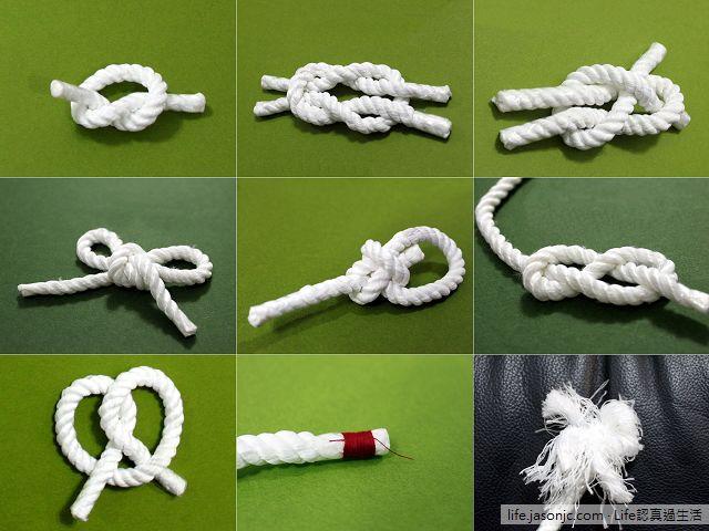 童軍九種初級繩結打法影片教學,照著練習,馬上學會