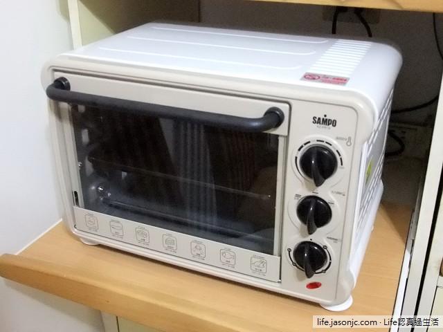 聲寶18公升三段電烤箱SAMPO KZ-PR18開箱