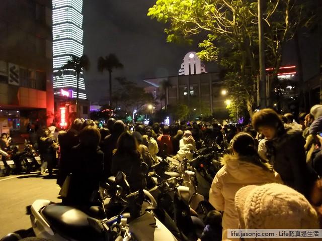 民國 100 年台北 101 跨年煙火現場 | 台北信義