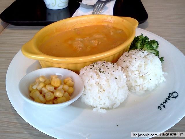 丹堤咖啡泰式紅咖哩雞肉飯 | 新北市板橋區