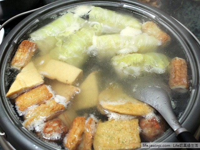 熱騰騰火鍋料理:101 JASONS 超市能量豬、基隆三記手工花枝餃