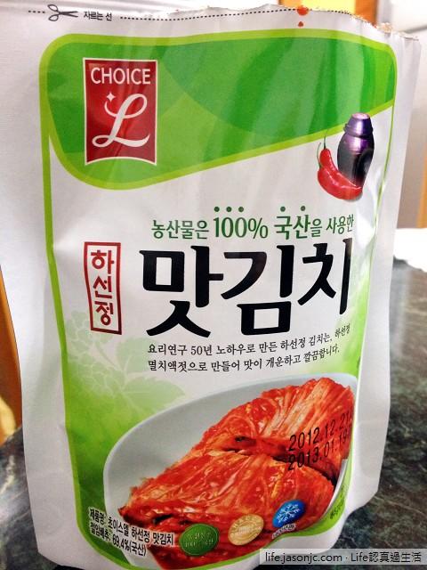 韓國泡菜新吃法:辣泡菜壽司