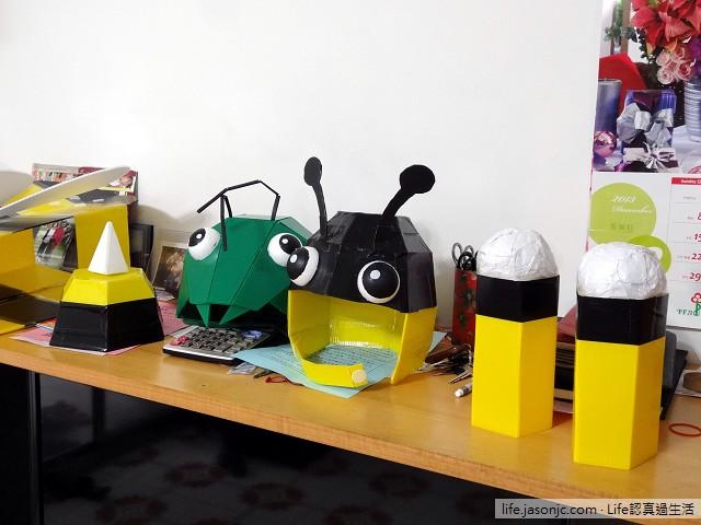 大黃蜂、壞螳螂道具 DIY | 聖誕親子變裝秀