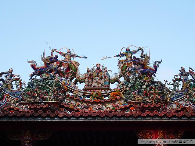 八月十五碧山巖開漳聖王廟拜拜 | 台北內湖