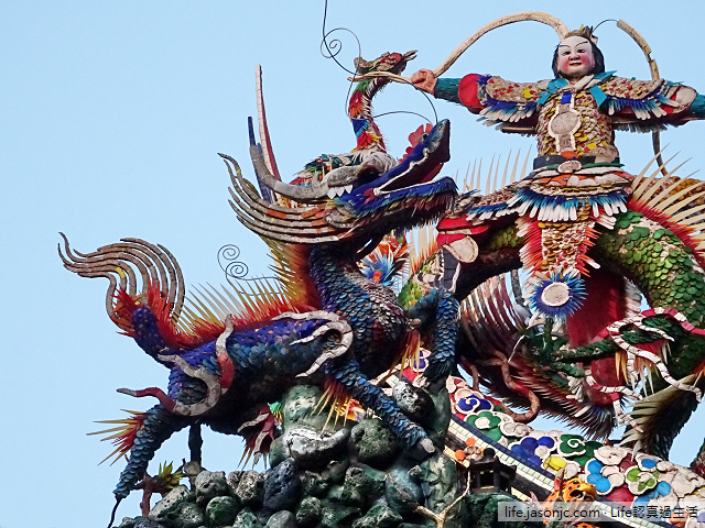 八月十五碧山巖開漳聖王廟拜拜 | 台北市內湖區