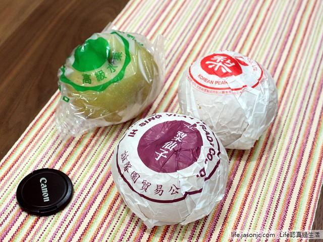 誼馨園梨仙子、台灣瑞豐果物韓國圓黃梨和國產在地水梨