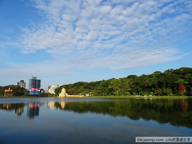 陽光燦爛在碧湖公園 | 台北內湖