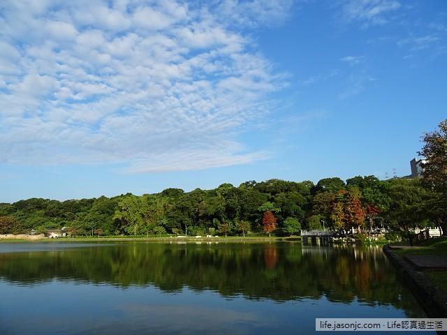 陽光燦爛在碧湖公園 | 台北市內湖區
