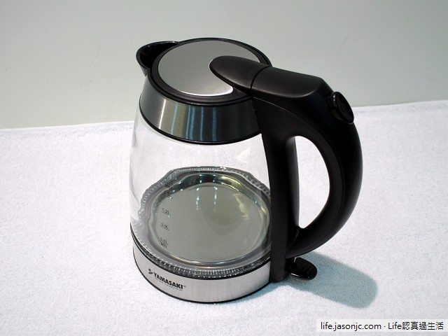 山崎一番YAMASAKI四季養生玻璃快煮壺SK-2820GS開箱